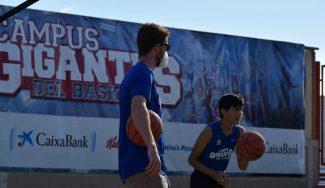 Edu Durán, jugador de la Liga Endesa, nos cuenta desde dentro la experiencia del Campus Gigantes