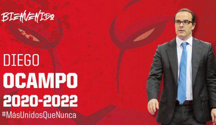 Diego Ocampo, nuevo entrenador del Casademont Zaragoza. Repaso a su carrera en los banquillos