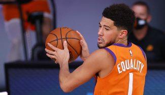 Devin Booker hace historia en los Phoenix Suns con sólo 23 años