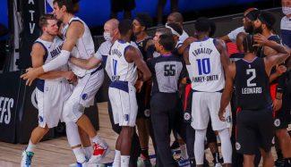 La NBA sanciona económicamente a Morris… y también a Doncic