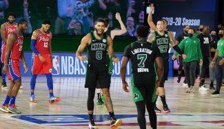 Los Celtics empiezan con remontada y victoria: buenos números y marcas importantes