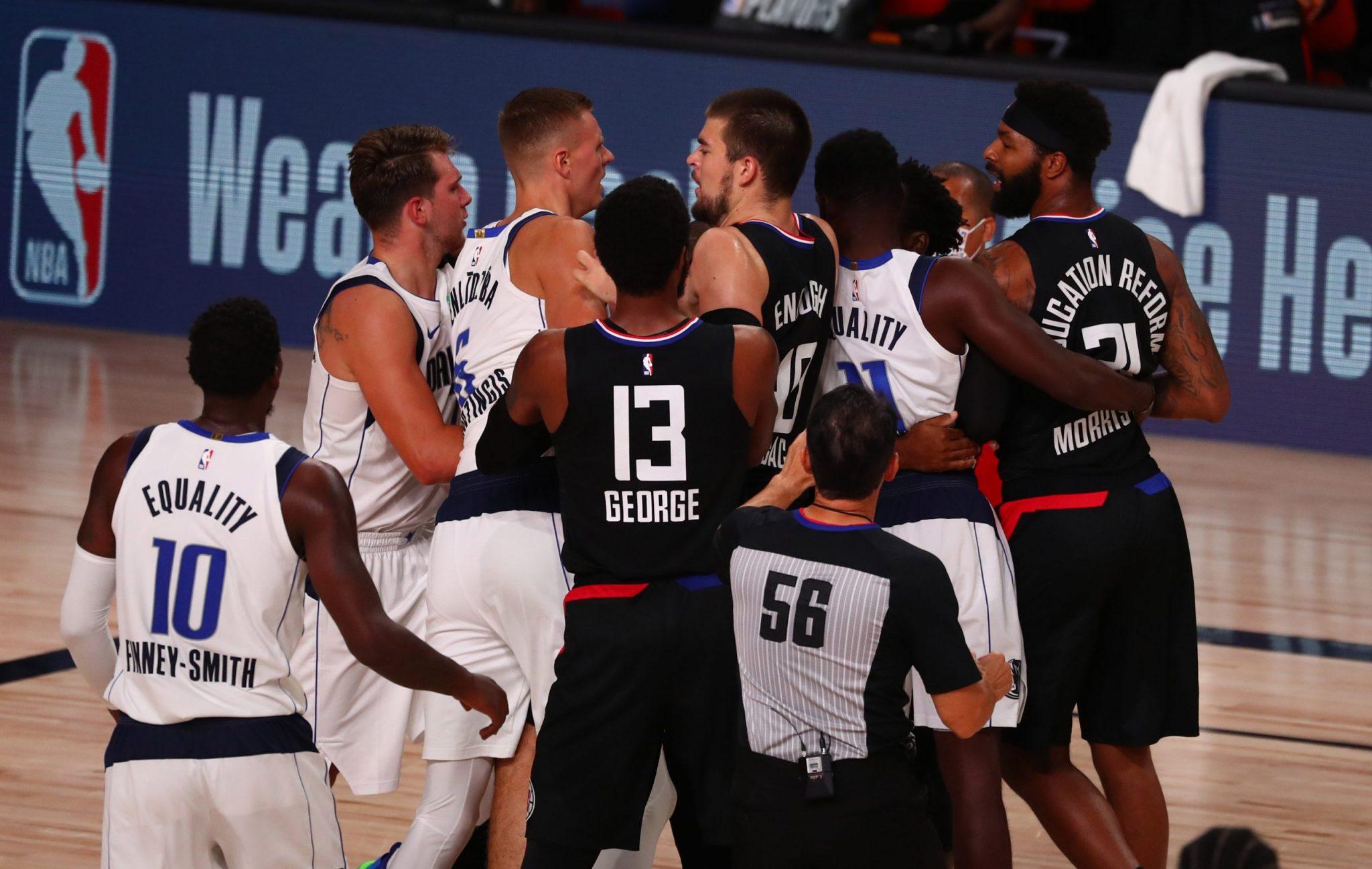 Clippers vs Mavs: Resumen, polémica e histórico partido sin precedentes de Doncic