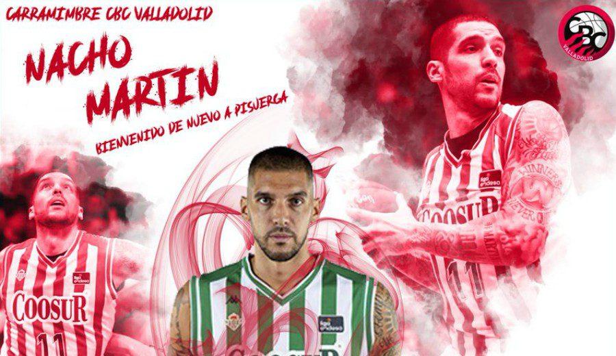 Nacho Martín vuelve a casa y firma por el Carramimbre CBC Valladolid