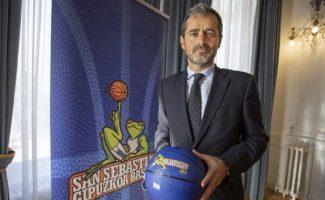 Las explicaciones del presidente del Gipuzkoa Basket sobre el caso del posible ascenso a la Liga Endesa