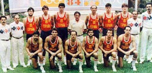 España - Los Angeles 84