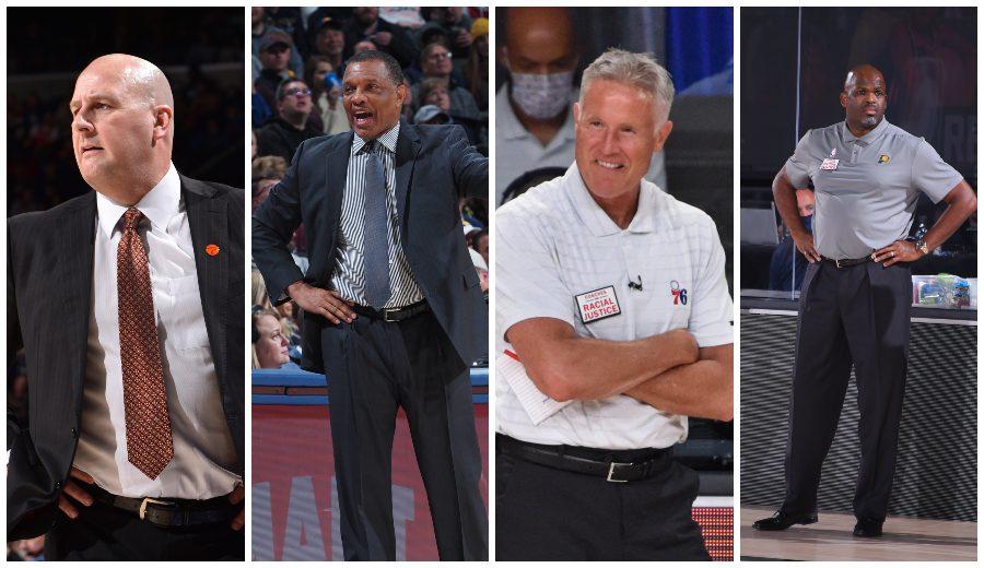 Todos los banquillos libres en la NBA durante el verano de 2020