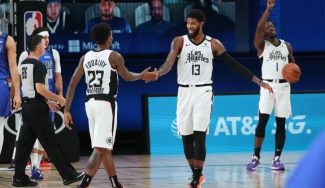 Los Clippers sacan su mejor versión con un festival histórico en ataque; los Mavs, contra las cuerdas