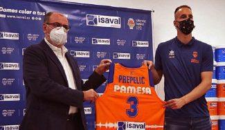 Prepelic, ilusionado con su nuevo reto en el Valencia Basket: sus palabras