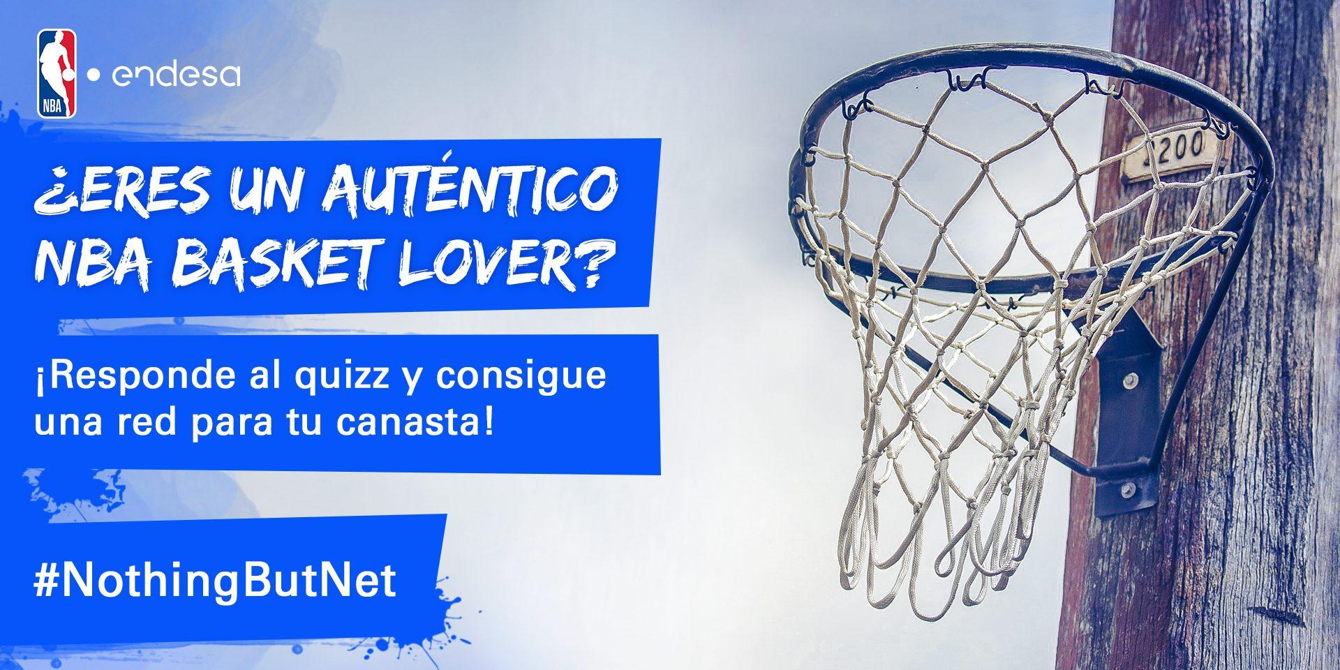 Nothing but Net, la iniciativa de la NBA y Endesa que te regala una red para tu cancha