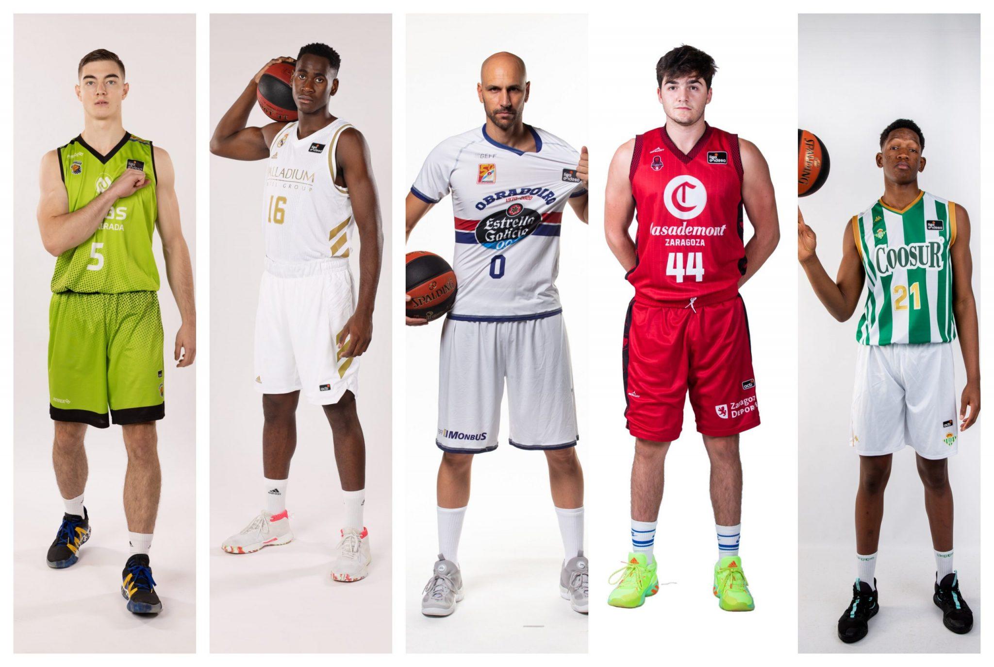 Los 10 jugadores más veteranos y los 10 más jóvenes de la Liga Endesa