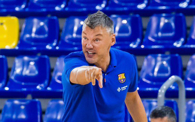 Primer toque de atención de Jasikevicius tras perder la Liga Catalana. Sus palabras…