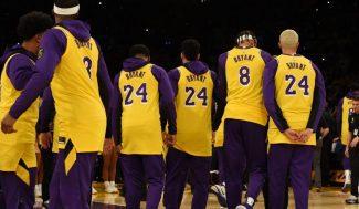 El grito de motivación con el que los Lakers honran a Kobe Bryant