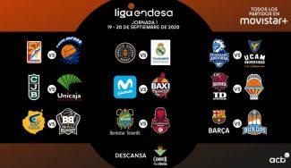 Calendario completo de la Liga Endesa y horarios de las 7 primeras jornadas