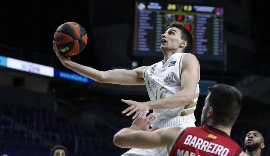 El Real Madrid y un implacable Causeur no se apiadan del Casademont Zaragoza