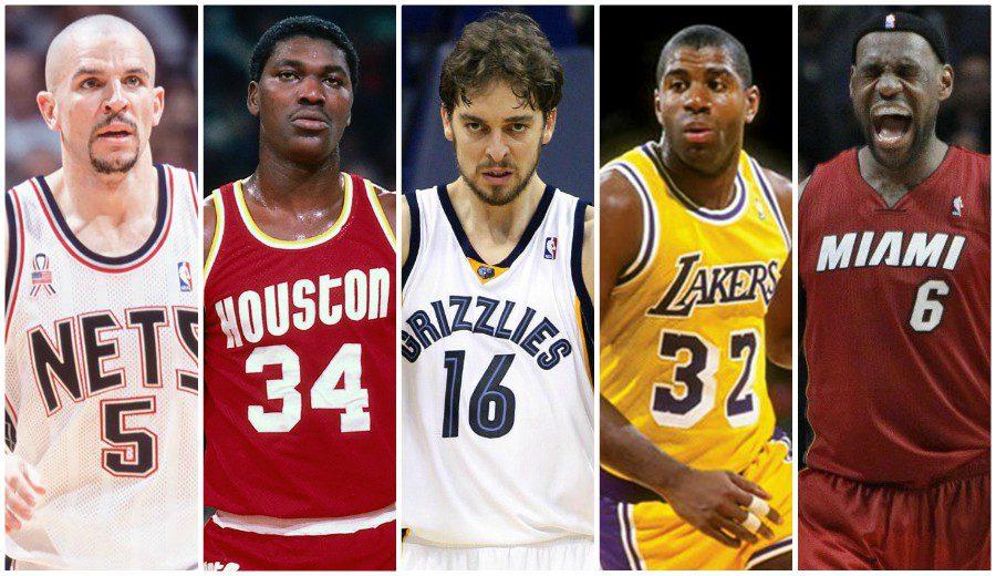 ¿Quiénes son los mejores jugadores de cada franquicia NBA? Aquí los tienes, equipo por equipo