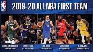 Oficiales los 'Mejores Quintetos' de la temporada NBA: Luka Doncic, en el primero