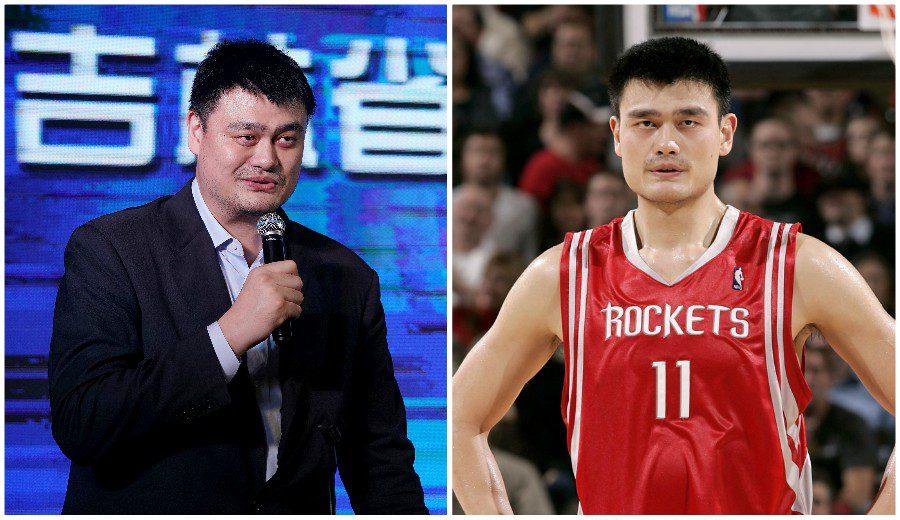 Yao Ming, de pelear en la pintura a hacerlo en los despachos