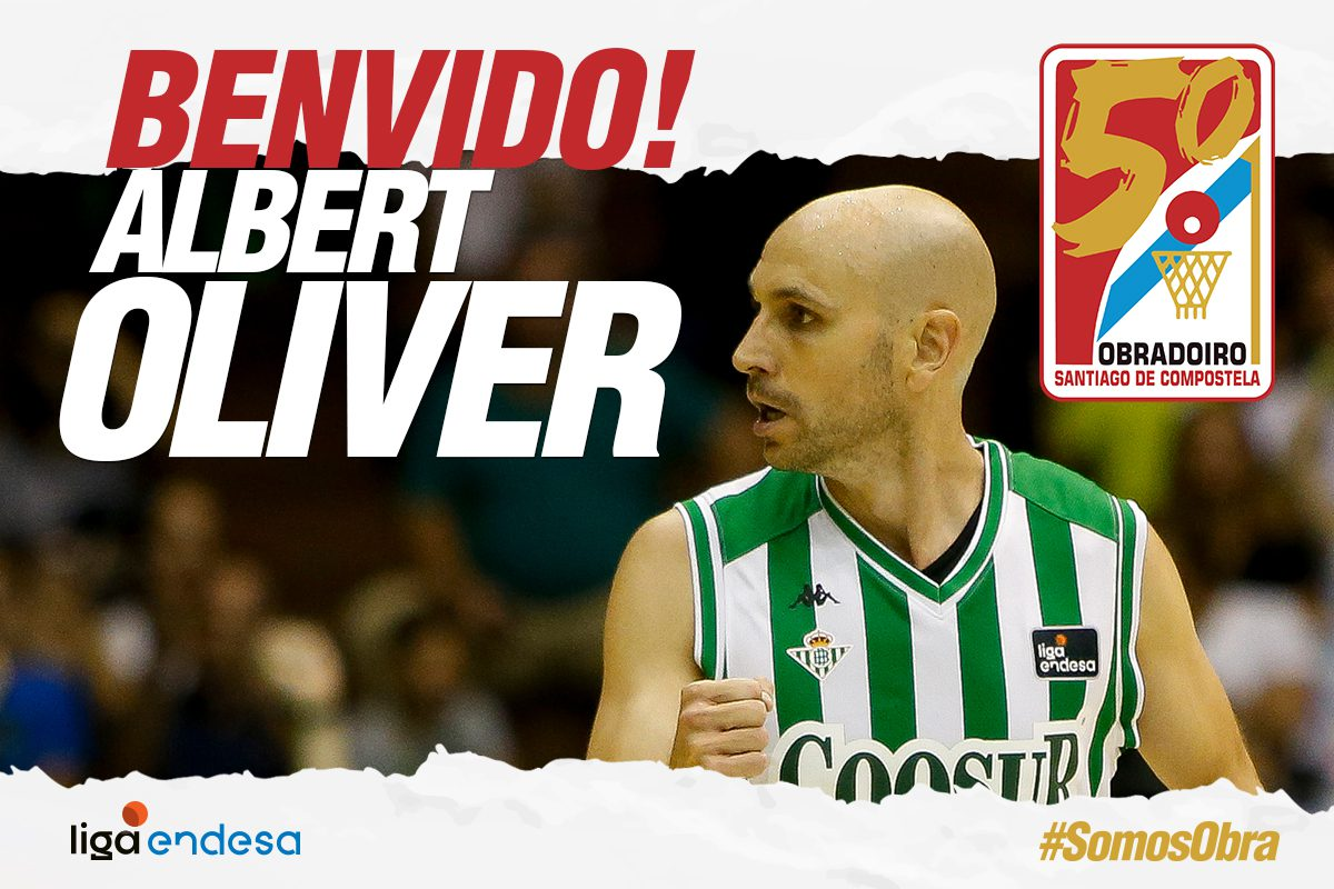 El Monbus Obradoiro ficha a Albert Oliver para los próximos dos meses