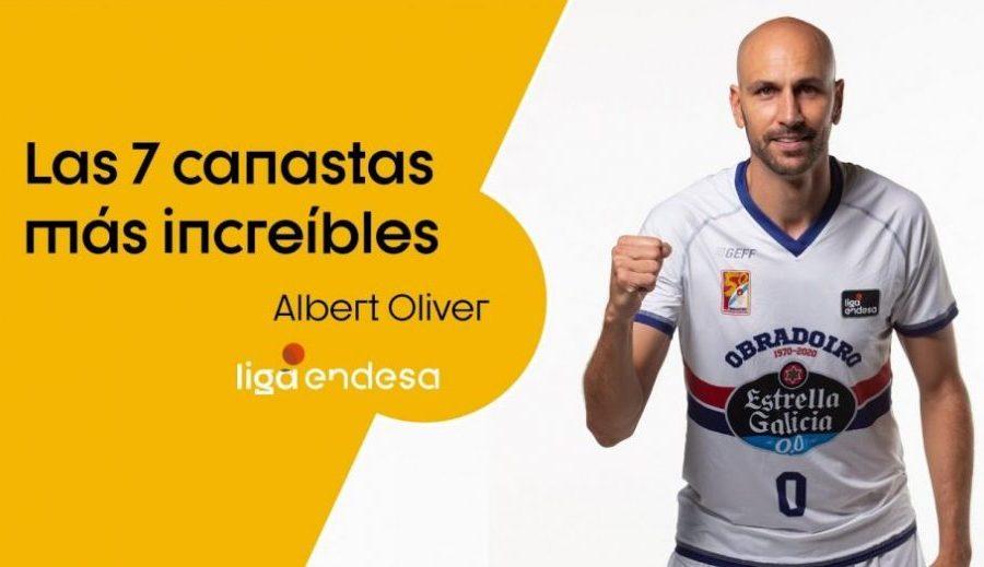 Albert Oliver hace un 'ranking' con sus canastas más bestiales