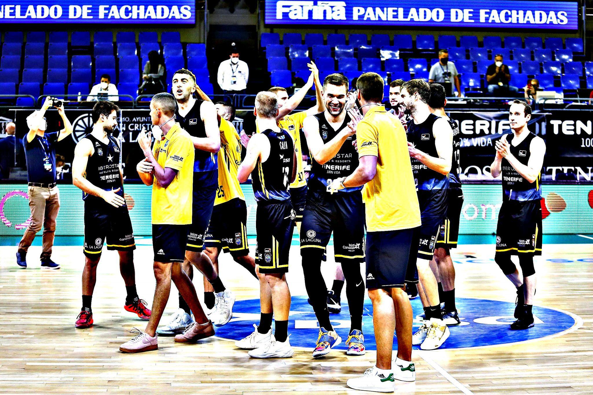 Iberostar Tenerife iguala su mejor inicio en la Liga Endesa. Datos e historia (Vídeo)