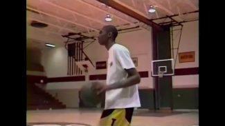 Joya de archivo: Kobe Bryant con 15 años ganando un concurso de mates (Vídeo)