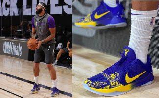 El homenaje constante de Anthony Davis a Kobe en sus zapatillas, por José Ajero
