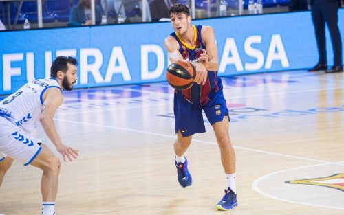 Leandro Bolmaro lidera al Barça con su mejor partido en la Liga Endesa