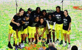 Seattle Storm, campeonas de la WNBA: 3-0 y la mayor paliza de la historia de las Finales