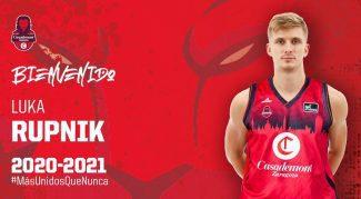 Fichaje del Casademont Zaragoza: llega Luka Rupnik. Así queda su plantilla