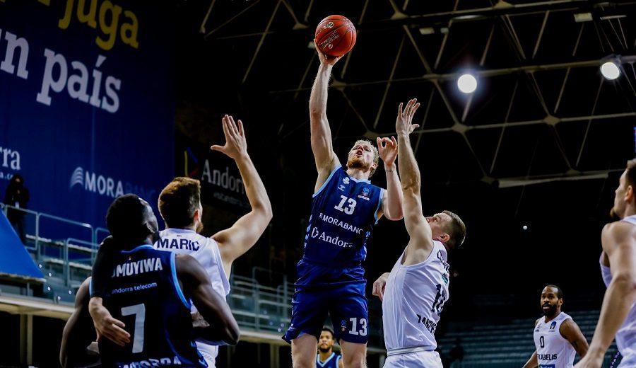 Luces y sombras en Europa: El MoraBanc Andorra vence y un mal último cuarto condena al RETAbet Bilbao Basket