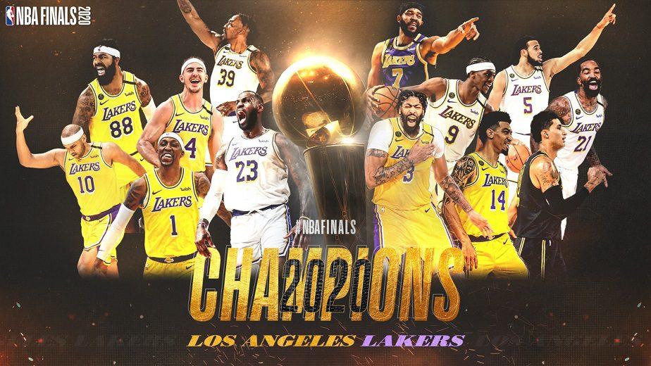Los Lakers son los campeones de la NBA: exhibición histórica para cerrar las Finales ante Miami