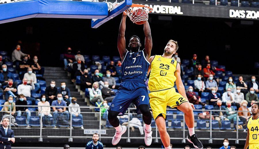 La defensa lleva al MoraBanc Andorra a su primera victoria en la Eurocup