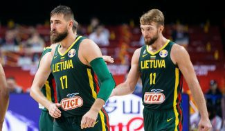 La notable lista de Lituania para las ventanas FIBA: dos NBAs y talento joven de la Liga Endesa