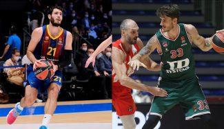 Barça y Baskonia caen a domicilio en la jornada 2 de la Euroliga