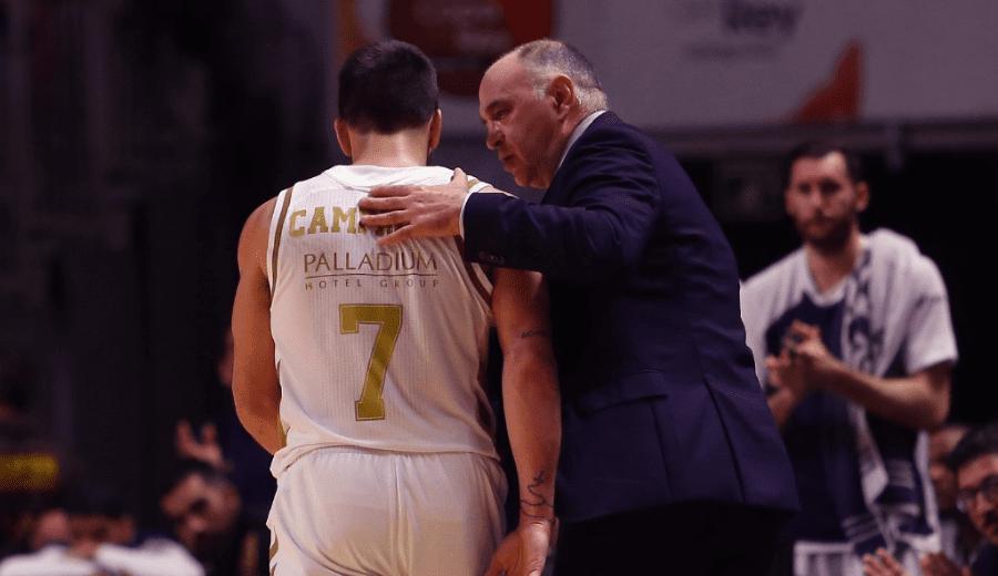 Pablo Laso y sus palabras hacia Campazzo: proceso, exigencia y el camino como jugador blanco (Vídeo)