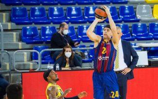 El festín del Barça: arrolla al Fenerbahçe por 42 puntos de diferencia con un Kuric brillante