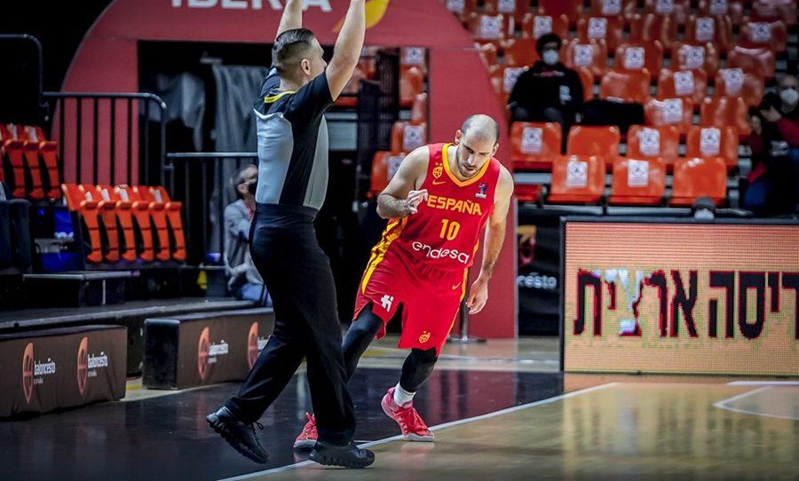 España tropieza ante Israel en las ventanas FIBA con una gris segunda parte