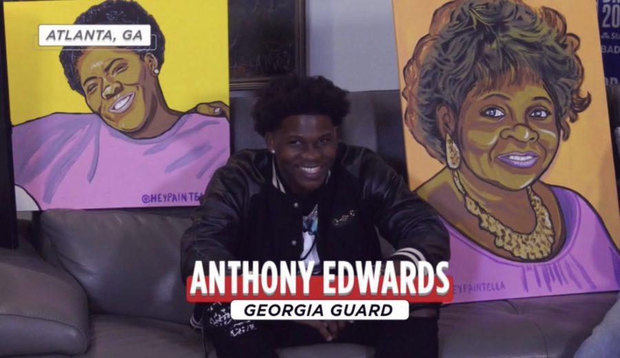 La historia vital escondida tras los retratos de Anthony Edwards, número 1 del Draft, durante su elección