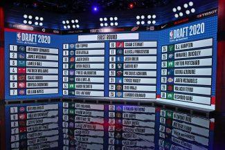 NBA Draft 2020: Todas las selecciones de primera y segunda ronda