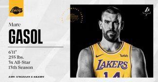 La llegada de Marc Gasol mejora los pronósticos de los Lakers como campeones de la NBA