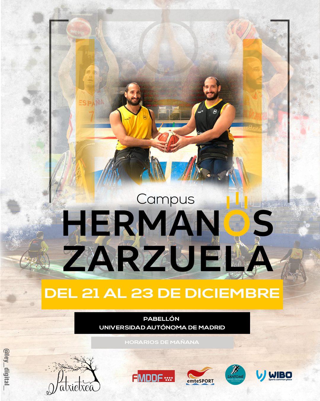 Vuelve el Campus de los hermanos Zarzuela, el primer campus de tecnificación de BSR