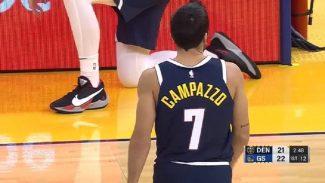Campazzo se estrena con los Nuggets en pretemporada. Sus números y sus mejores acciones