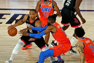 Aplazado el partido entre Oklahoma City Thunder vs Houston Rockets