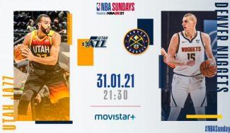Cómo y dónde ver el Denver-Utah, el gran partido del NBA Sundays
