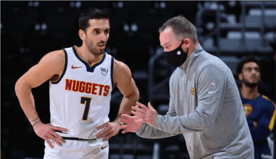Malone, entrenador de los Nuggets, sobre el rol de Campazzo: «Tendrá el que tiene ahora»