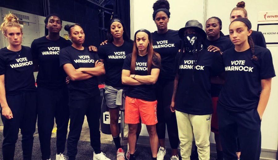 Activismo y compromiso social. Así influyó la WNBA en las elecciones de Georgia y el futuro de EEUU