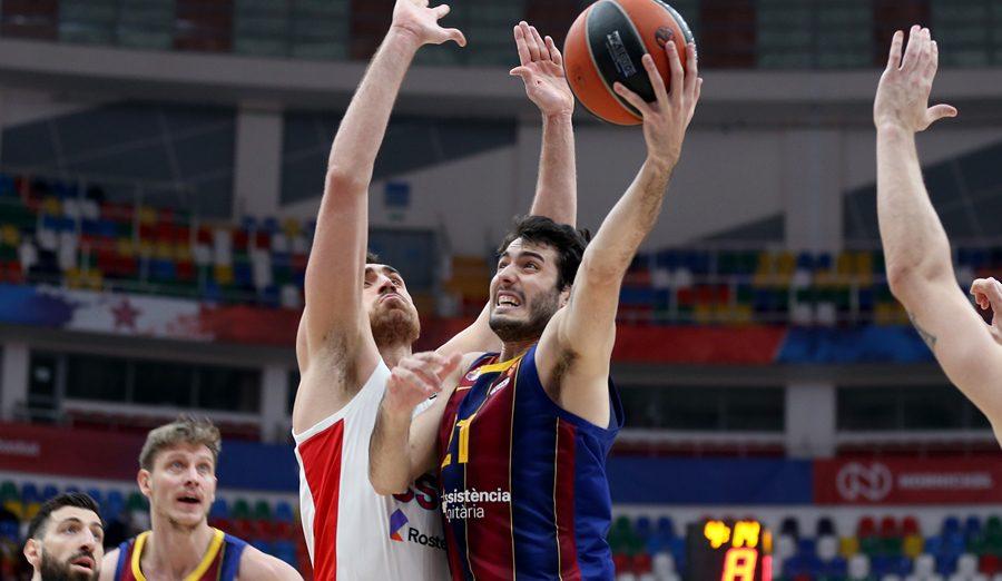 Abrines y Higgins comandan la victoria del Barça en la cancha del CSKA