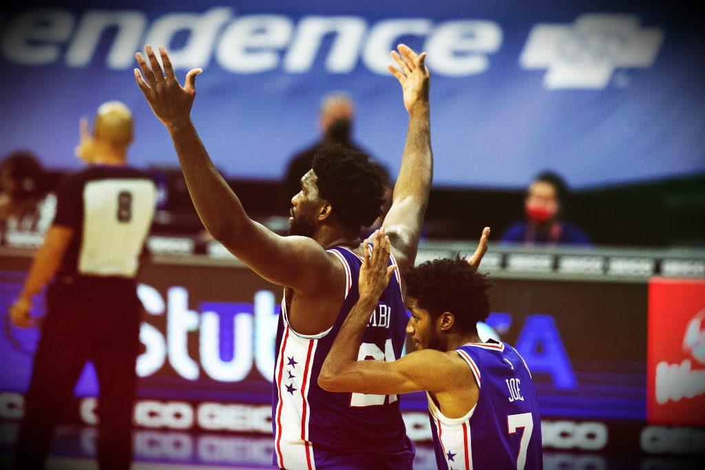 Embiid firma uno de sus mejores partidos en la NBA (Vídeo)