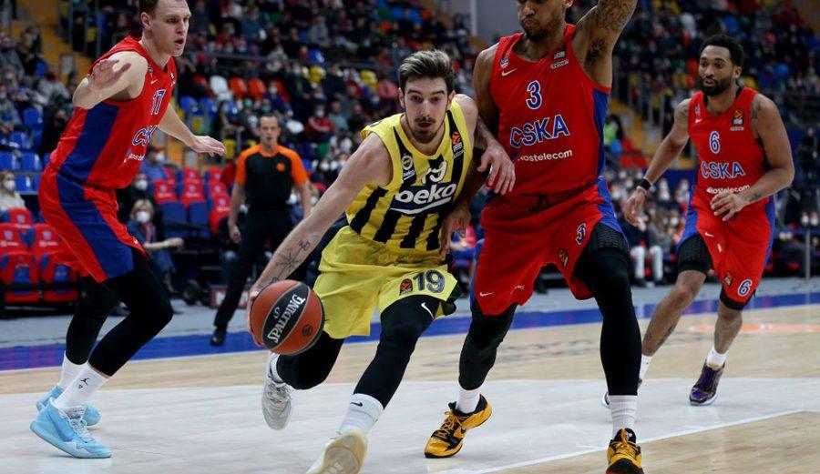 De Colo y Vesely destrozan al CSKA en Moscú: los numerazos que han firmado las estrellas del Fenerbahçe
