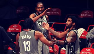 Victoria de los Nets, récord de Durant y primer gran partido del Big Three